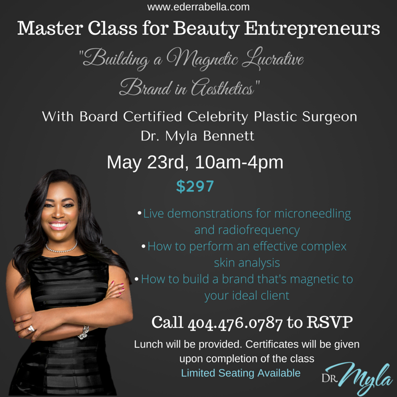 entrepreneurs master class with dr. myla